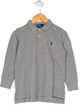 Polo Ralph Lauren Boys' Long Sleeve Collar Shirt