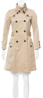 Diane von Furstenberg Bogart Trench Coat