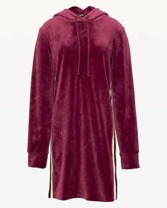 Juicy Couture Ultra Luxe Velour Hooded Dress