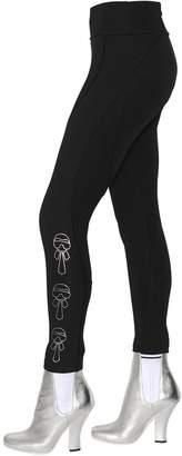 Fendi Karlito Printed Stretch Jersey Leggings