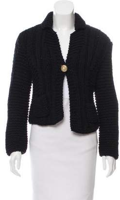 Chanel Wool Knit Cardigan