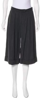 Lanvin Wool Pleated Culottes