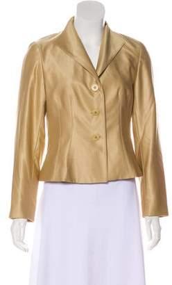 Lafayette 148 Wool And Silk Blend Jacket