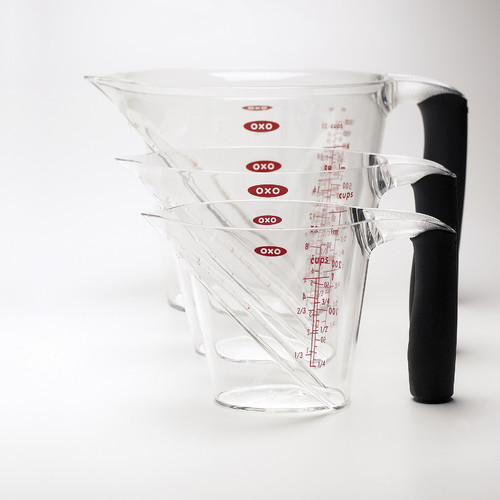 OXO Angled 3 Piece Measuring Cup Set