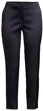 Escada Women's Duchess Satin Ankle Pants