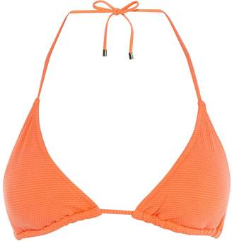 7810a38803614 Next Womens Karen Millen Pink Valencia Triangle Bikini Top