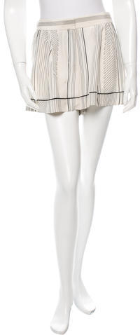 3.1 Phillip Lim3.1 Phillip Lim Silk Pinstripe Shorts