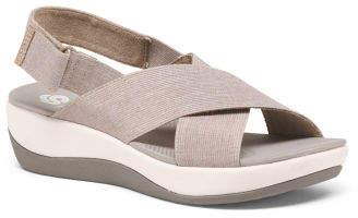 Comfort Xband Slingback Wedge Sandals