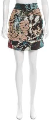 Issey Miyake Astrological Jacquard Skirt