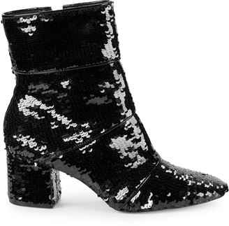 Ava & Aiden Sequence Sequin Booties