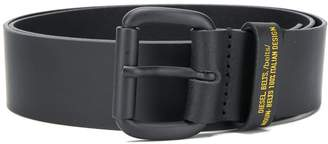 Diesel logo strap belt
