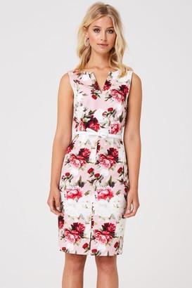 cbaa5662704 Paper Dolls Barclay Pink Floral Pencil Dress
