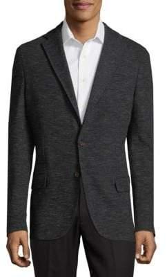 Eleventy Textured Classic Jacket