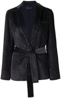 Fabiana Filippi corduroy belted blazer