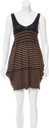 Stella McCartney Striped Mini Dress