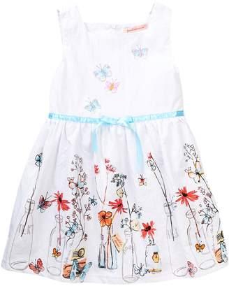 Paulinie Printed Dress (Toddler & Little Girls)