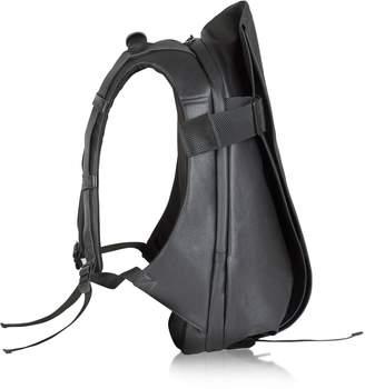 Coteetciel Cote&ciel Isar Medium Black Coated Canvas Backpack