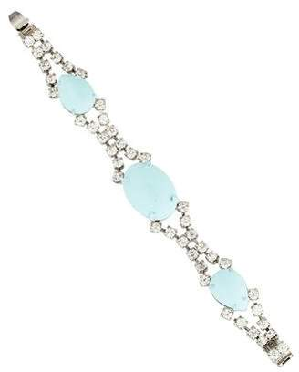Tom Binns Madame Dumont Pastel Crystal Bracelet