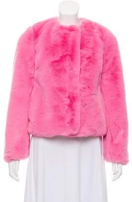 Milly Faux Fur Jacket w/ Tags