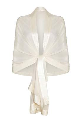 Ghost Zara Shawl Ivory