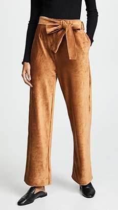 Moon River Corduroy High Waist Trousers