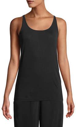Eileen Fisher Silk Jersey Long Slim Camisole