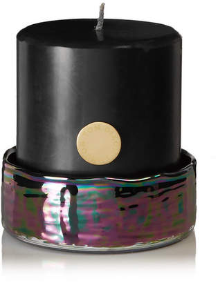 Tom Dixon Oil Pillar Candle Set, 880g - Black