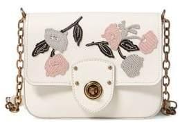 Lauren Ralph Lauren Small Floral Chain Crossbody Bag