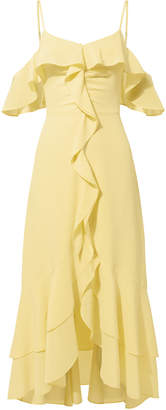 Intermix Freja Ruffle High-Low Dress