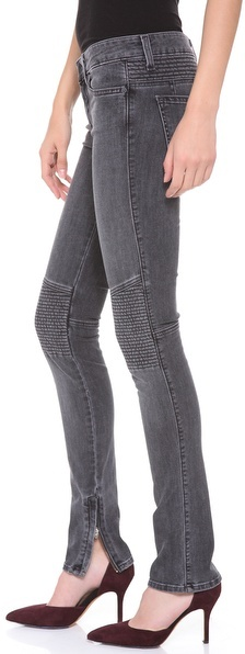 Vince Ankle Zip Moto Pants
