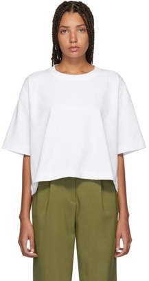 Acne Studios White Embossed Logo Cylea T-Shirt