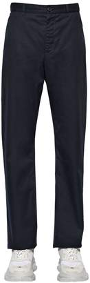 Balenciaga Baggy Cotton Gabardine Chino Pants
