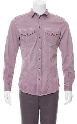 Dolce & Gabbana Brad Distressed Shirt
