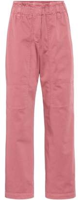 Brunello Cucinelli Cropped cotton pants