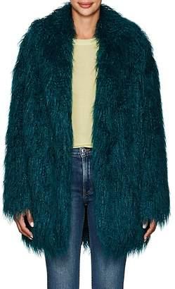 MM6 MAISON MARGIELA Women's Faux-Fur Coat