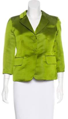 Marc Jacobs Structured Notch-Lapel Blazer