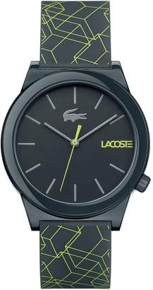 Lacoste Men's Motion Watch with Grey Silicone Strap