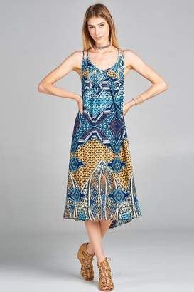 Love Kuza Vintage Tribal Sundress