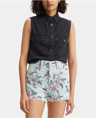 Levi's Maddie Western Sleeveless Cotton Shirt