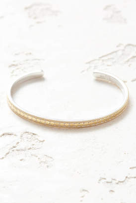 Anna Beck Gold Dotted Stacking Cuff Bracelet