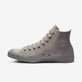 Converse Chuck Taylor All Star Suede Mono Color High Top Womens Shoe