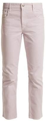 Etoile Isabel Marant Fliff Mid Rise Straight Leg Jeans - Womens - Light Pink