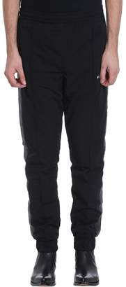 Misbhv Black Poliammide Track Pants