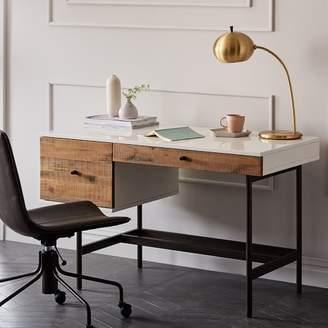 west elm Reclaimed Wood + Lacquer Desk