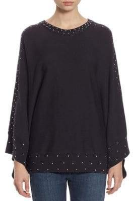 Each X Other Studded Cotton Poncho