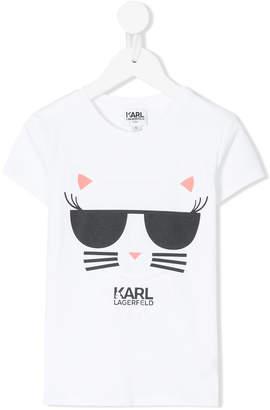 Karl Lagerfeld Choupette graphic T-shirt