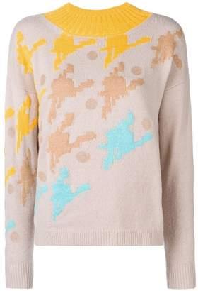DELPOZO intarsia knit jumper