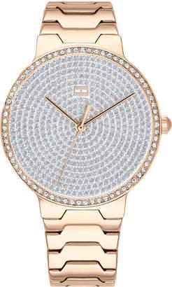 Tommy Hilfiger Women's Gold-Tone Stainless Steel Bracelet Watch 36mm