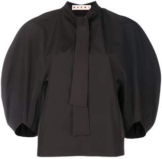 Marni wide-sleeved blouse
