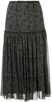 Giambattista Valli dotted print skirt